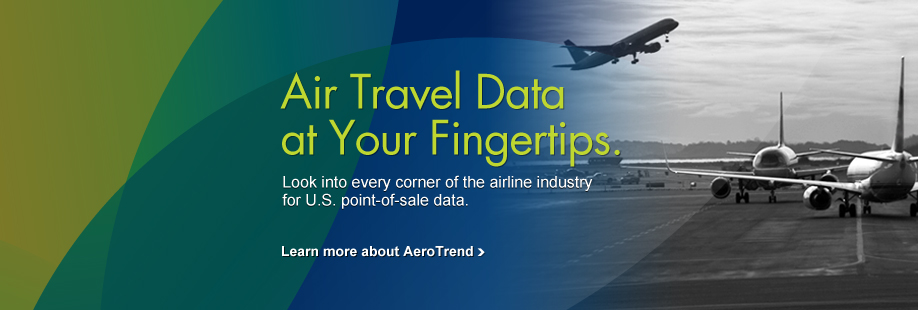 Air Travel Data at Your Fingertips - Learn more about AeroTrend